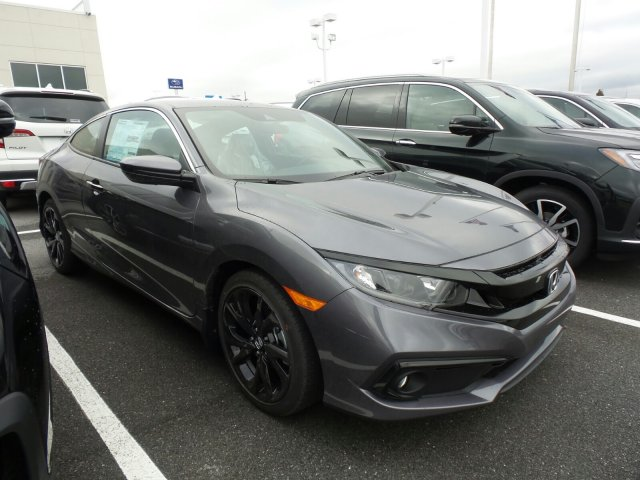 New 2019 Honda Civic Coupe Sport FWD